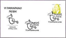 VII TORNEO PARALIMPICO - PARALYMPIC TOURNAMENT. Basauri, Pais Vasco, 2005 - Handisport