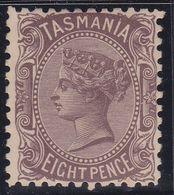 Tasmania 1906 P.11 SG 255a Inverted Mint Hinged - Nuevos