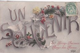 77 GRISY SUISNES Fantaisie Un Souvenir De  Pays Des Roses - France