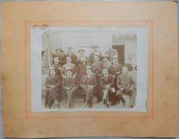 73 RARE PHOTO MOUTIERS FÊTE DE LA TRENTAINE 1908 CLASSES 1897 98 99 CONSCRITS PHOTOGRAPHE LOUIS BARTHÉLEMY - Moutiers