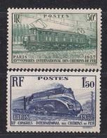 FRANCE   Y&T  N°  339 ET 340   NEUF **  Cote  20.00 Euros - Frankrijk