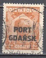 Poland Port Gdansk 1928 Danzig - Mi.19 - Used - Gestempelt - 1919-1939 Republic
