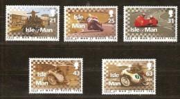 Île De Man 1998 Yvertn° 808-12 *** MNH Cote 9,50  EuroTourist Trophy Motocyclistes - Isla De Man