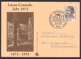 Lucas Cranach MC Maxkarte 500. Geburtstag Kronach BRD 718 - Maximum Cards