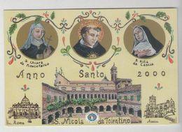 SAN NICOLA DA TOLENTINO....ANNO SANTO 2000..SANTA CHIARA E RITA - Other Cities