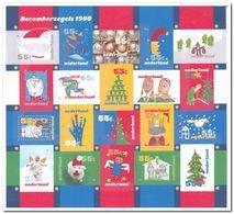 Nederland 1999, Postfris MNH, NVPH V1856-75, Christmas - Unused Stamps