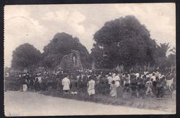 RARE !! 1924 MARIADIENST MISSIEN SCHEUT CONGO - GROT O.L.V. V. LOURDES Te NIEUW ANTWERPEN - Belgian Congo - Other
