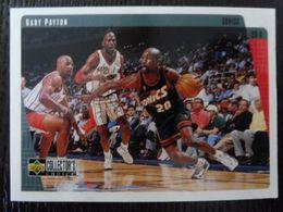 NBA - UPPER DECK 1997 - SONICS - GARY PAYTON - 1990-1999
