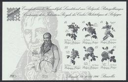 FM - Feuillet Ministériel : Centenaire De La Fédération Royal Des Cercles Philatéliques De Belgique. Cote 125e - MinisterBlocks
