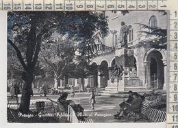 PERUGIA GIARDINI PUBBLICI E MONUMENTO AL PERUGINO VG - Perugia