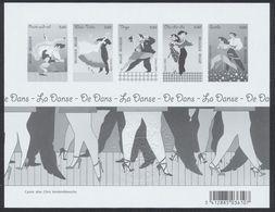 FM - Feuillet Ministériel : La Danse (BL136) - Ministervelletjes