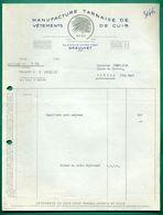 81 Graulet Manufacture Tarnaise De Vétements De Cuirs ( Logo Tete D' Indien ) - Textile & Clothing