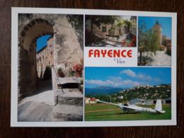 L22/1433 FAYENCE - MULTIVUES -  AVEC AERODROME - Fayence
