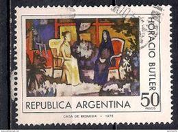 Argentina 1977 - Plastic Arts - Usati