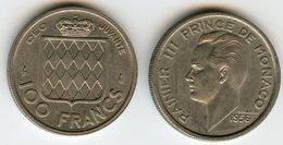 Monaco 100 Francs 1956 GAD 143 KM 134 - 1949-1956 Anciens Francs