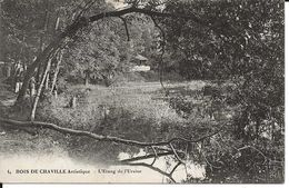 92. CPA. Hauts De Seine. Chaville. Bois De Chaville Artistique. L'étang De L'Ursine (animée) - Chaville