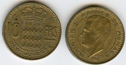 Monaco 10 Francs 1951 GAD 139 KM 130 - 1949-1956 Anciens Francs