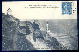 Cpa Du 22  Saint Brieuc Gare Terminus Du Phare  AVR20-148 - Saint-Brieuc
