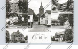 5253 LINDLAR, Gruss Aus.., Eichenhofstrasse, Hauptstrasse, Krankenhaus, Amtsgericht... - Lindlar