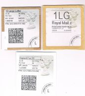 1st Class Large Letter & 2nd Class Signed For Postage Labels - 1952-.... (Elizabeth II)