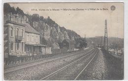 Marche-les-Dames. L'Hotel De La Gare. - Namur