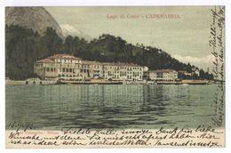 Lago Di Como - Cadenabbia 1902 - Como