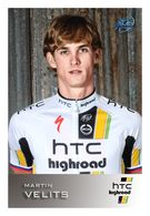 CARTE CYCLISME MARTIN VELITS TEAM HTC HIGHROAD 2011 ( SERIE BUSTE ) - Ciclismo