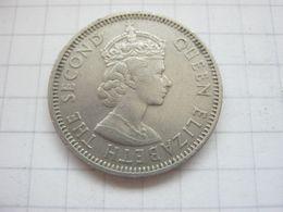 British Caribbean Territories , 25 Cents 1965 - Caribe Oriental (Estados Del)