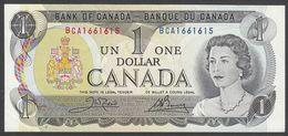 CANADA  : 1  Dollar - 1973 - P85a - Queen Elisabeth II - UNC - Canada