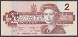 CANADA  : 1  Dollar - 1986 - P94a - Queen Elisabeth II - UNC - Canada