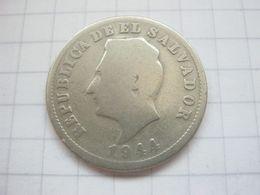 El Salvador , 5 Centavos 1944 - El Salvador