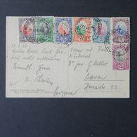 San Marino, Cartolina Con Affrancatura Multipla Per La Svizzera Del 1933    -A33 - San Marino