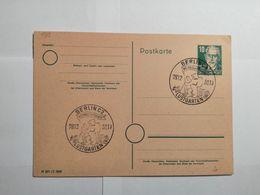 Deutsche Postkarte 1950 Lustgarten - [7] République Fédérale