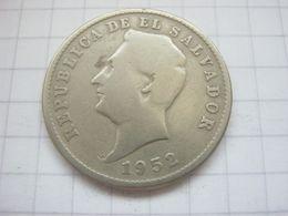 El Salvador , 10 Centavos 1952 - El Salvador