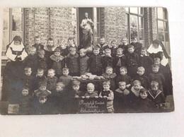 Melsele  Fotokaart ( Met Jongens ) Plaatselijk Comiteit Schoolmaaltijd - Beveren-Waas