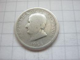 El Salvador , 25 Centavos 1953 - El Salvador
