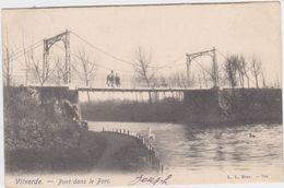 Vilvoorde - Brug In Het Park (gelopen Kaart Met Zegel) Kaart Van Voor 1900 - Vilvoorde
