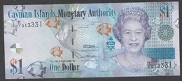 CAYMAN : 1  Dollar - 2010 - P38a - Queen Elisabeth II - UNC - Isole Caiman