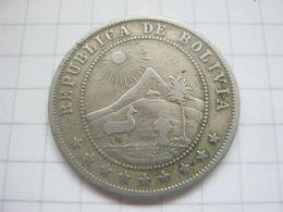 Bolivia , 10 Centavos 1902 - Bolivia