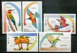 Namibia Mi# 1506-10 Postfrisch/MNH - Fauna Bird - Namibia (1990- ...)