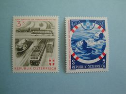 Bateaux Autriche  Yv 926 - 1527 ** MNH Michel 1086 - 1698   Scott 661 - 1204  SG 1364 - 1925  Ships - 1945-.... 2ème République