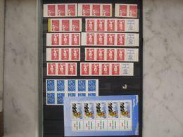 FRANCE Lot De 102 TVP (timbres à Valeurs Permanente) Faciale 118 € Moins 50 % Voir Commentaire - Francia