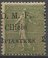 CILICIE N° 84 SURCHARGE Déplacé NEUF* TRACE DE CHARNIERE / MH / - Neufs