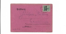 Karte Aus Tamines 1915 - Covers & Documents