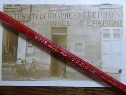 FRANCE CPA Carte Photo Le Bureau De Poste De Lamorlaye Oise (60) - Autres Communes