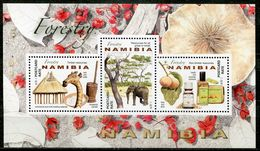 Namibia Mi# Block 92 Postfrisch/MNH - Forestry - Namibia (1990- ...)