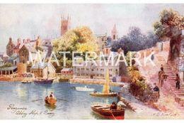 PENZANCE OLD ART COLOUR POSTCARD TUCK OILETTE CARD NO7070 WIMBUSH - Wimbush