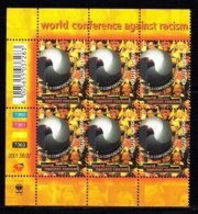 RSA, 2001, MNH Stamps In Control Blocks, MI 1421, Anti Racism,  X771 - South Africa (1961-...)