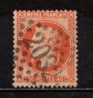 N° 31 Obl Grs Ch 2032 LIBOURNE, Superbe - 1863-1870 Napoleone III Con Gli Allori