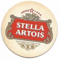 SOUS BOCK - STELLA ARTOIS - ANNO 1366 - Sous-bocks